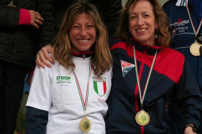 Corsa campestre: successo di Antonella Sassi