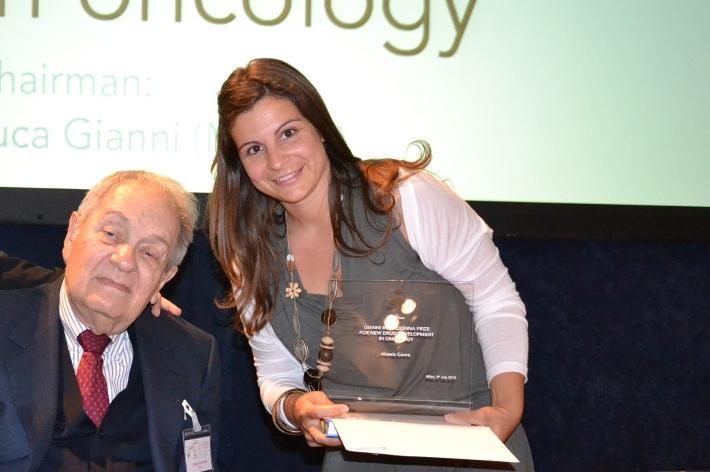 """Premio """"Bonadonna"""" alla biotecnologa Covre"""