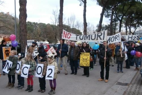 """Gli abitanti della Valdelsa dicono """"no"""" alla CO2"""